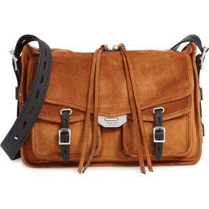 RAG & BONE Field Leather Messenger Bag Brand New